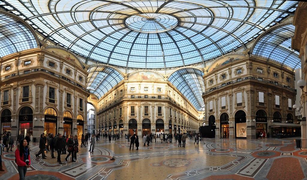Milan Galleria Vittorio Emanuele Ii Domonkos Angi Flickr