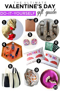 Valentine's Day Gift Guide: DIY Edition | by femmefraiche