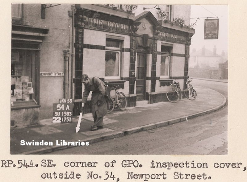 1953 The Royal Oak Inn Junction Of Newport Street Devi Flickr