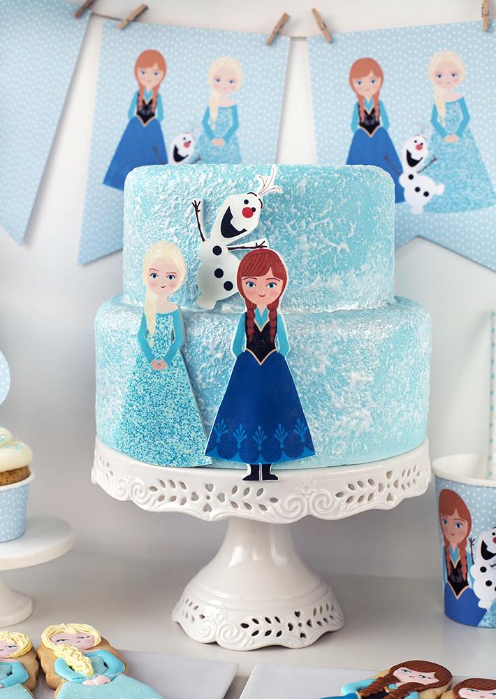 Tarta fiesta Frozen