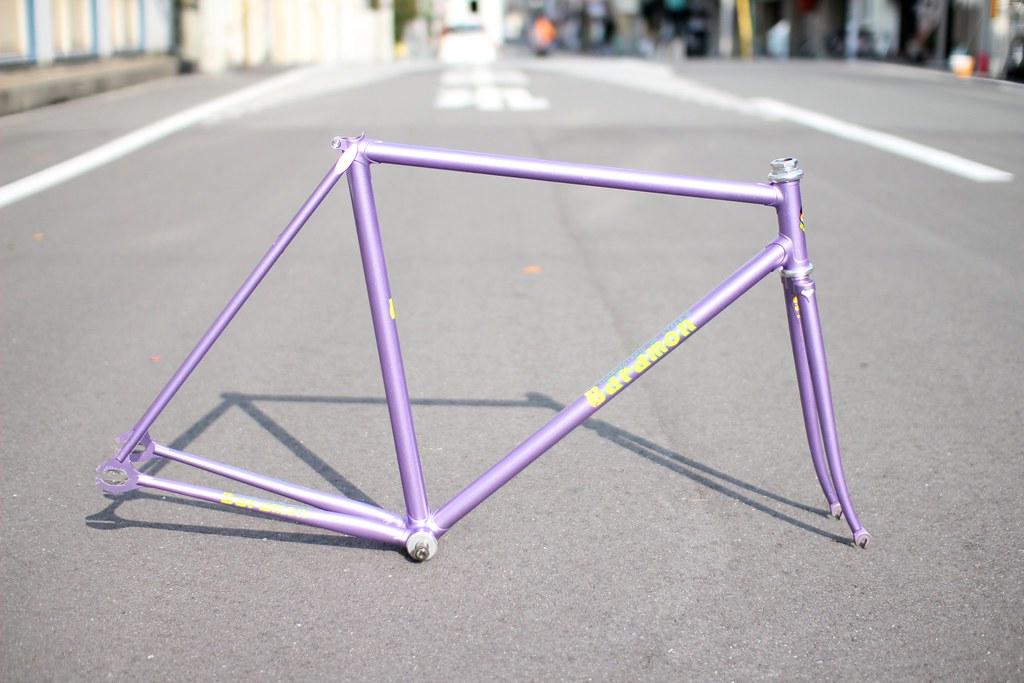 Very rare.Baramon KEIRIN Track frame NJS | for sale. princip… | Flickr
