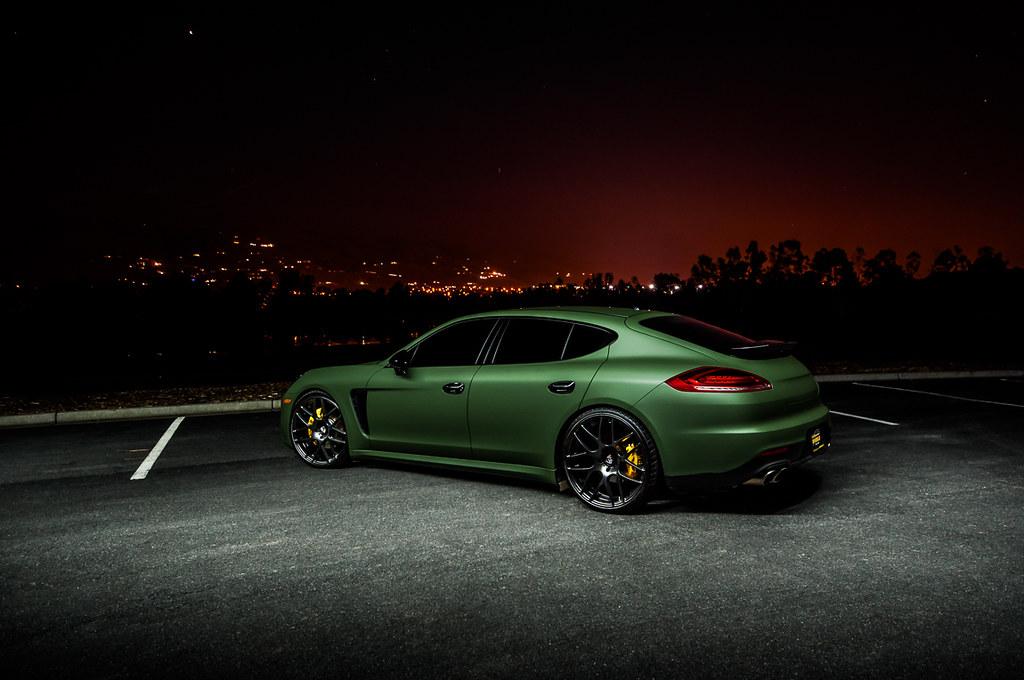 Porsche Panamera Ag Wheels Porsche Panamera With A