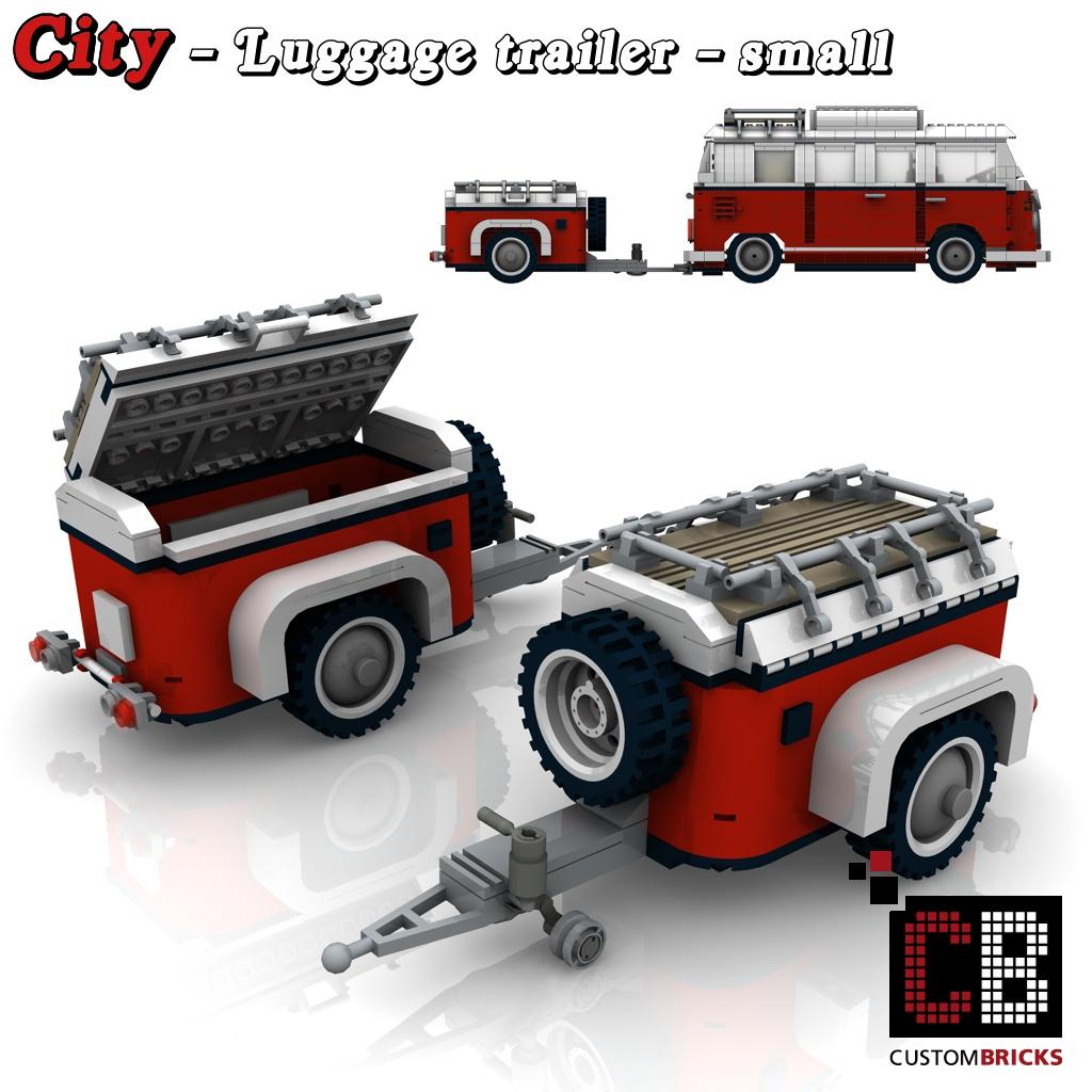 Lego Custom T1 Bus Vw Camper 10220 Anh 228 Nger Cb0 The