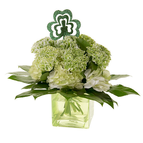 St. Patrick's Day — Leanne and David Kesler, Floral Design Institute, Inc., in Portland, Ore. | by Flower Factor