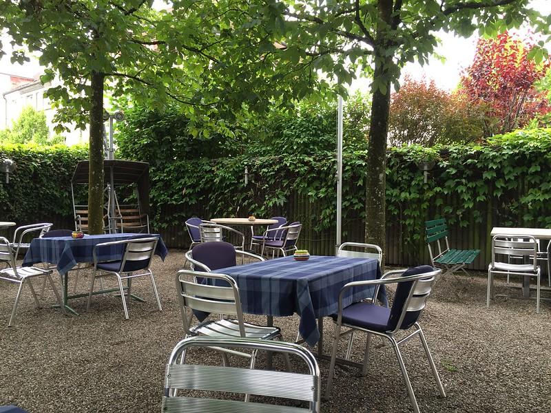 Restaurant Chutz, Langendorf, garden