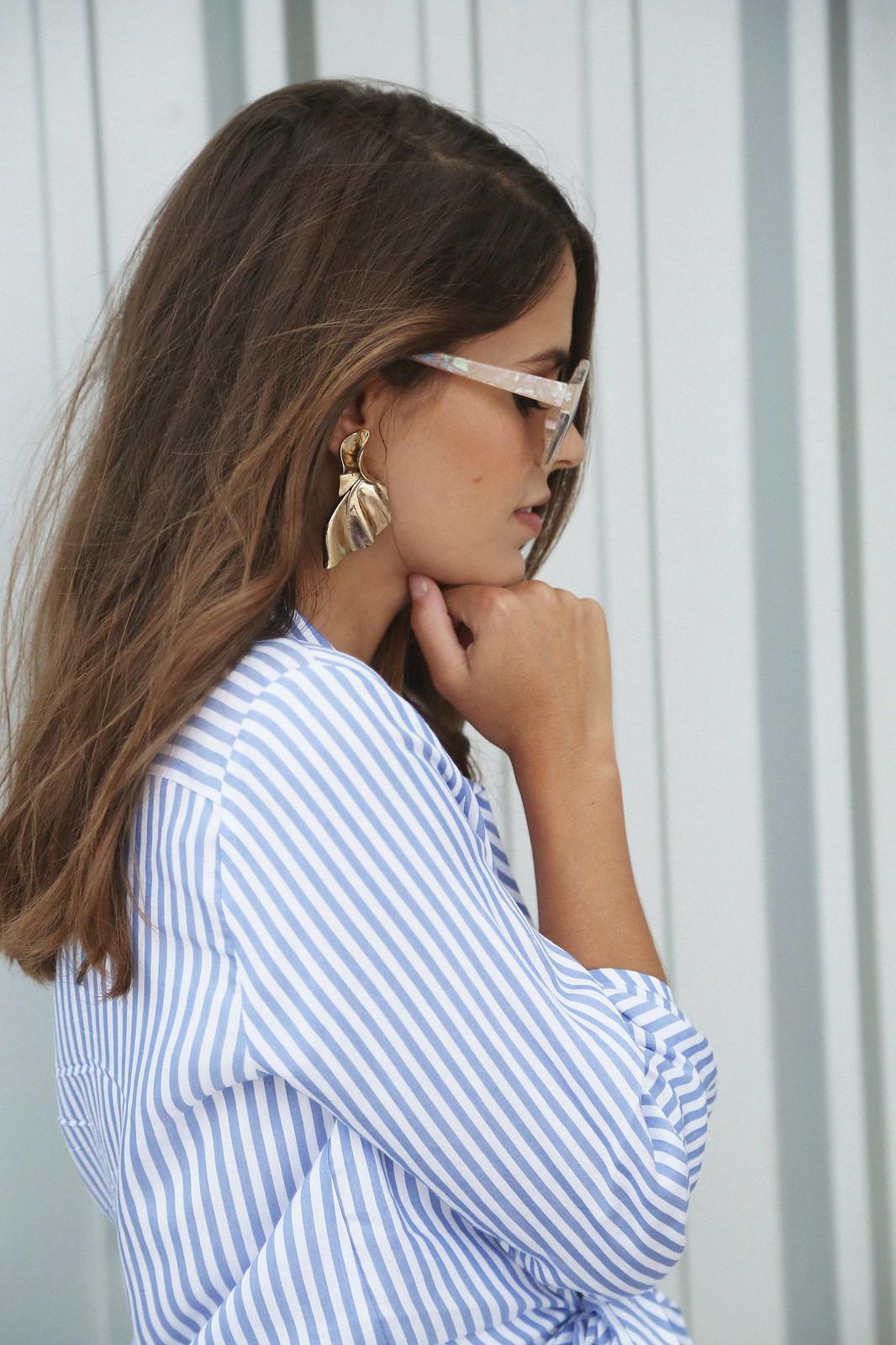 jessie chanes seams for a desire denim skirt stripes shirt-12
