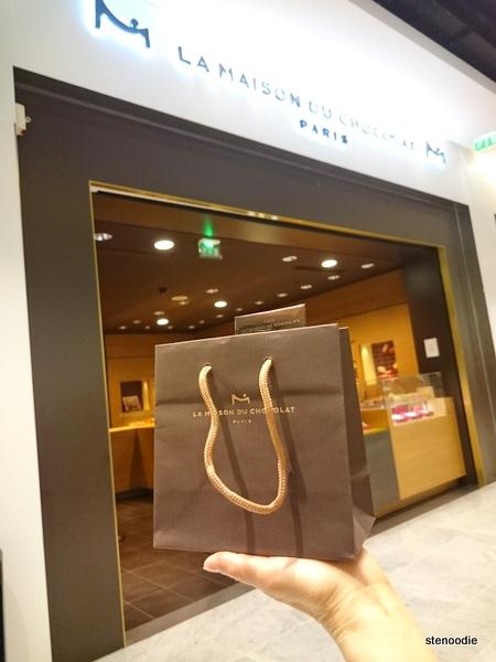 La Maison du Chocolat inside Paris Airport