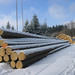 Holzpolter Winter