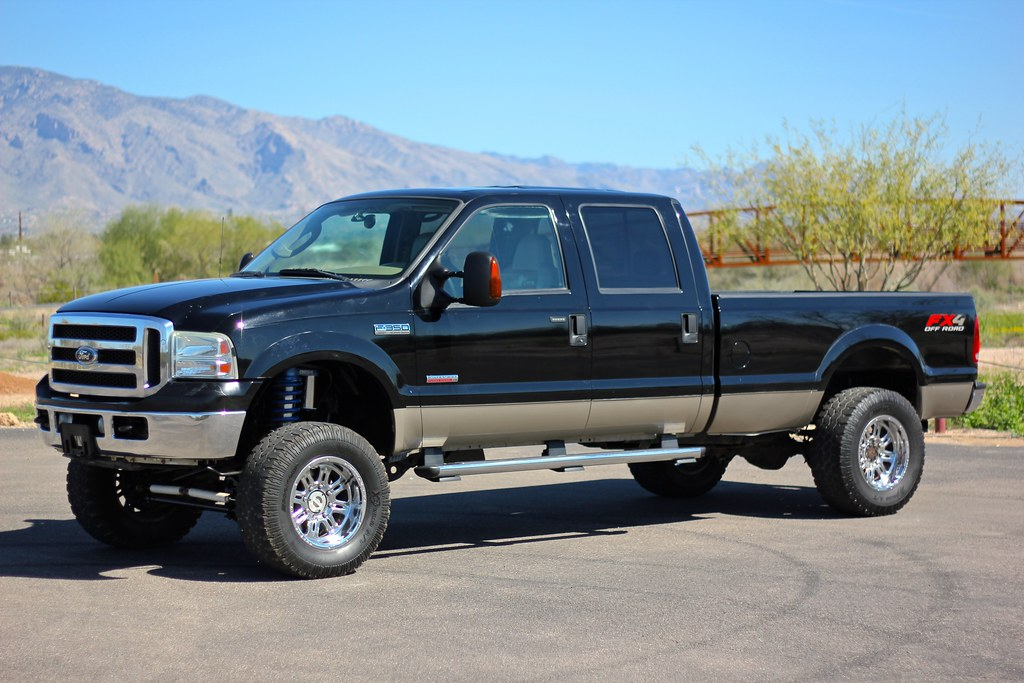 2005 ford f350 lariat 4x4 diesel truck for sale. Black Bedroom Furniture Sets. Home Design Ideas