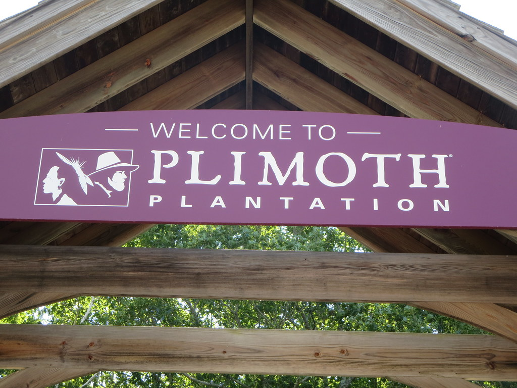 Welcome to Plimoth Plantation living history museum entran ...