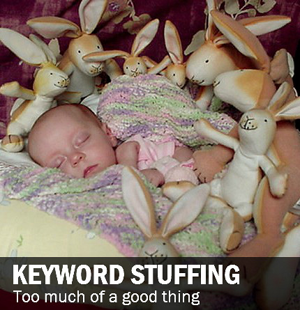 Kid stuffed with bunnies