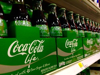 Coca Cola Life with Stevia and Sugar Sweetener | by JeepersMedia