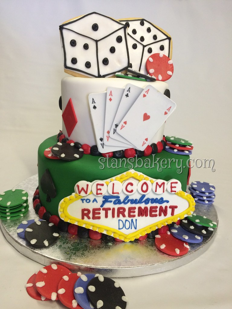 Las Vegas Birthday Cake Stans Northfield Bakery Flickr