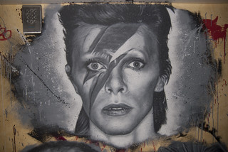 David Bowie, painted portrait _DDC2085 | by Abode of Chaos