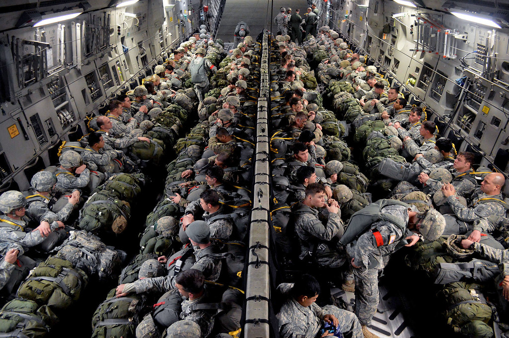 Deployment Readiness Exercise | U.S. Army paratroopers ...