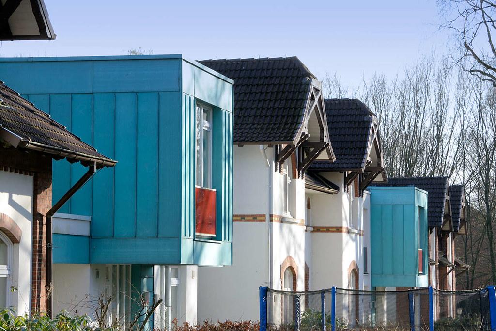 5537 Alt + Neu   Historische Wohnhäuser, Moderner Neubau   Architektur In  Hamburg Langenhorn.