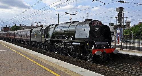 duchess of Sutherland at Wigan NW | by petef48