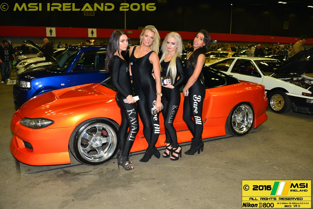 The Scottish Car Show The Hot Bare All Entertainment