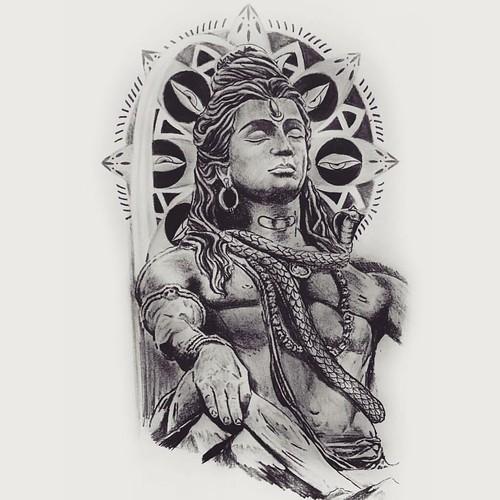 Tattoo Designs God Shiva