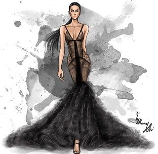 Fashion Illustrator By Shamekh Agnes Von Weiss Intimate