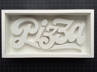 Gastrotypographicalassemblage Pizza | by Nick Sherman