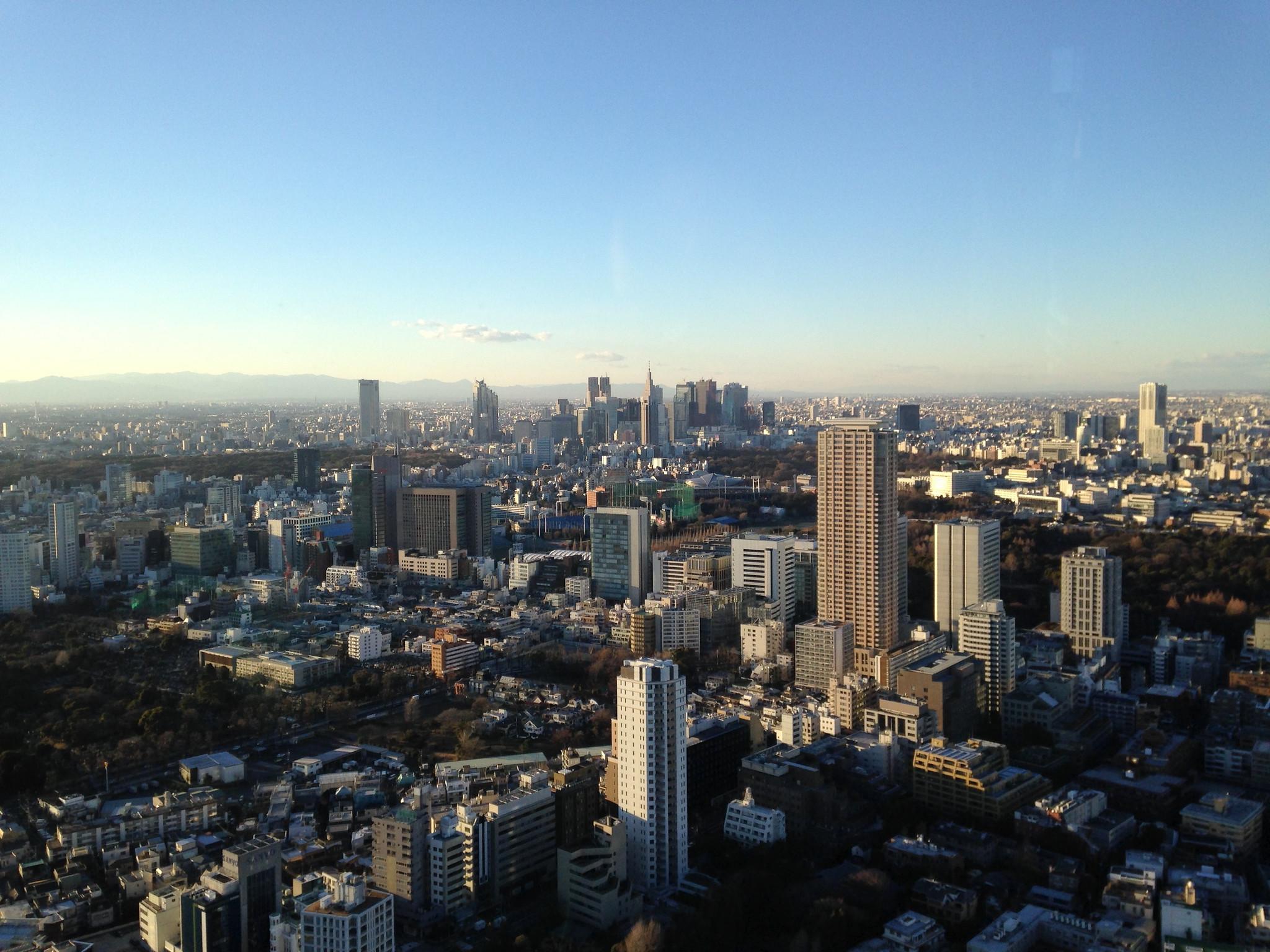 Tokyo from the Ritz Carlton