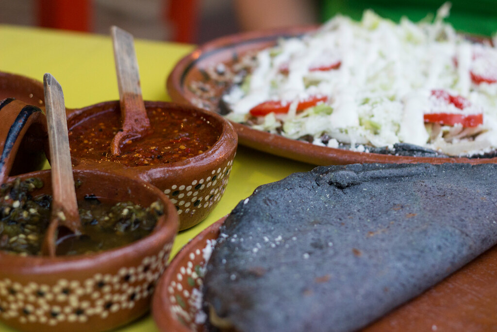 quesadilloja, Sayulita, Meksiko