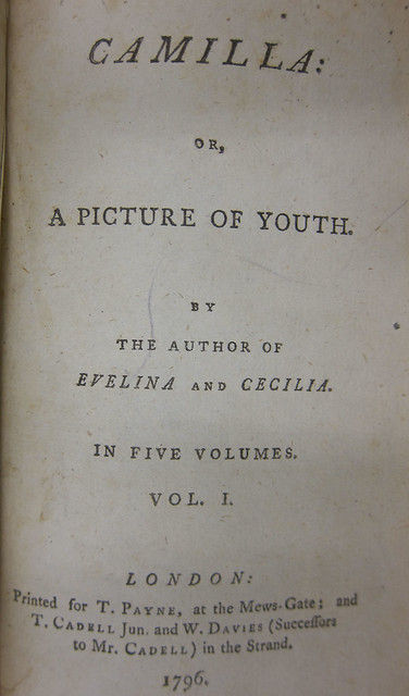 pride and prejudice by jane austen zsr library camilla title page