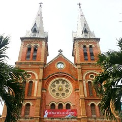Notre Dame Cathedral - Saigon #vietnam #hcmc #saigon #notredame #cathedral