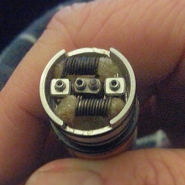 24g kanthal dual coil build