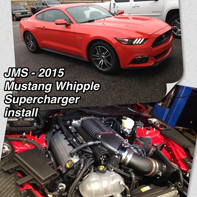 Whipple Supercharger Dodge Ram: JMS Master Mechanic Scott Dodge Is Finishing Up The 2015 M