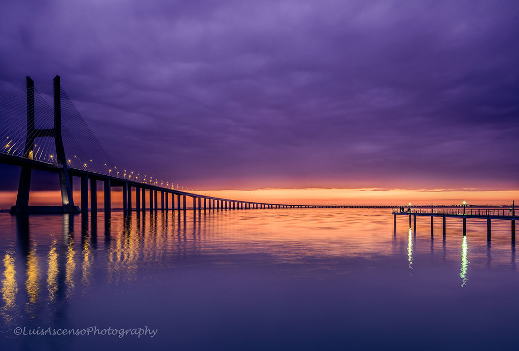 foto di ponti - Foto diLuis Ascenso . Vasco de gama bridge