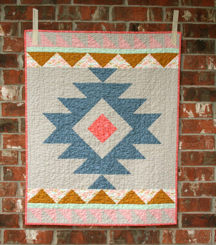 aztec story from finished urban new is size quilt x meg