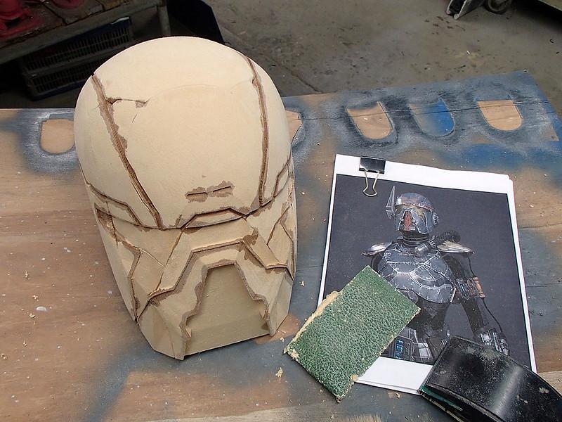 Shae Vizla Helmet Rough Sanded