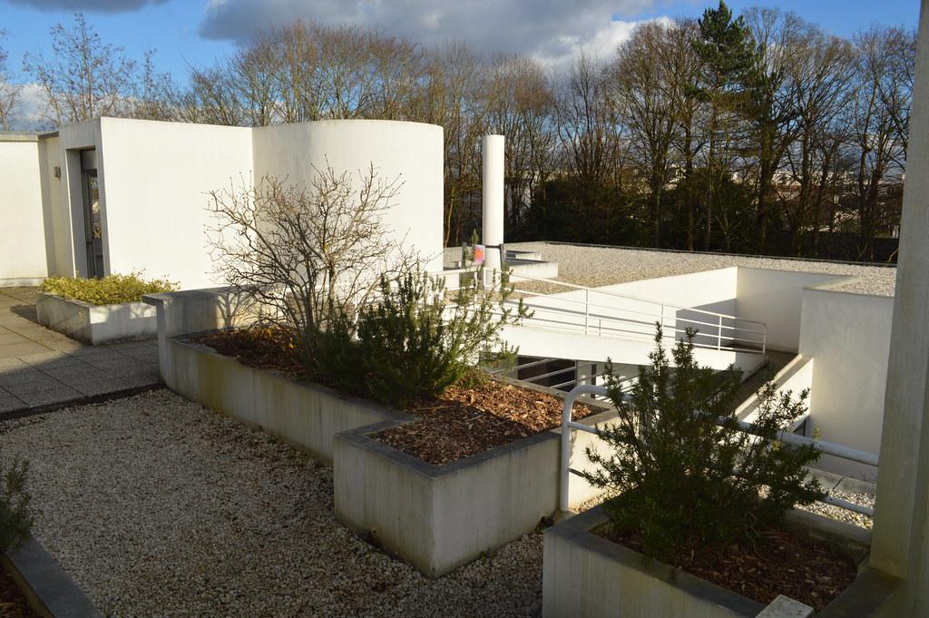 villa savoye solarium lstrike flickr. Black Bedroom Furniture Sets. Home Design Ideas