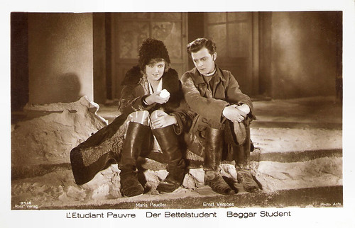 Maria Paudler and Ernst Verebes in Der Bettelstudent (1927)