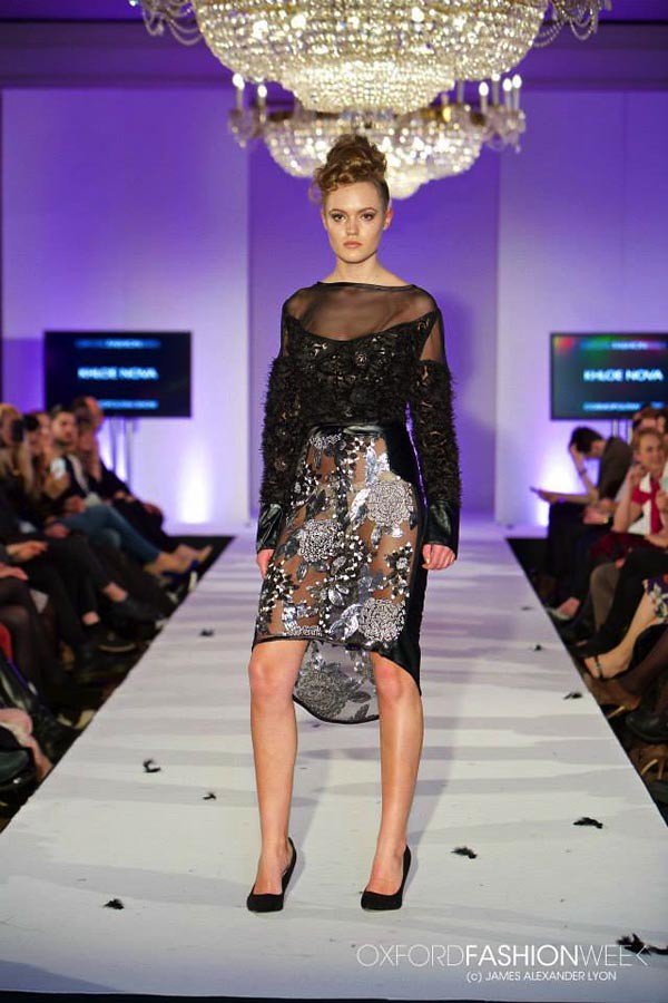 Oxford fashion week cosmopolitan show Crazy