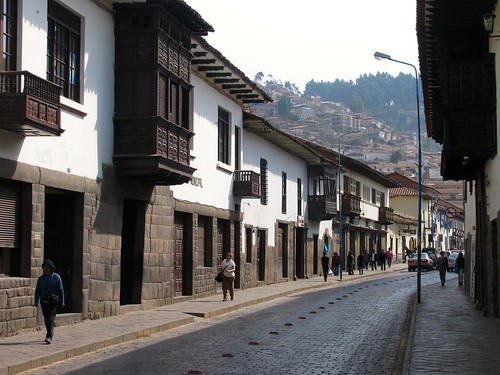 Calle Santa Catalina Ancha, Cusco