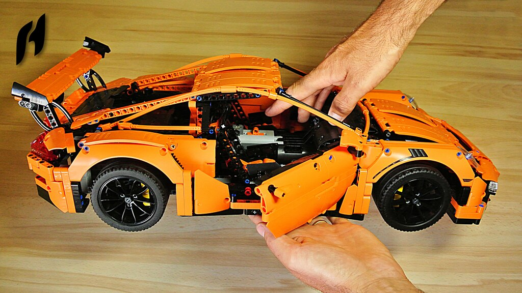 how to motorize lego technic 42056 porsche 911 gt3 rs sbr. Black Bedroom Furniture Sets. Home Design Ideas