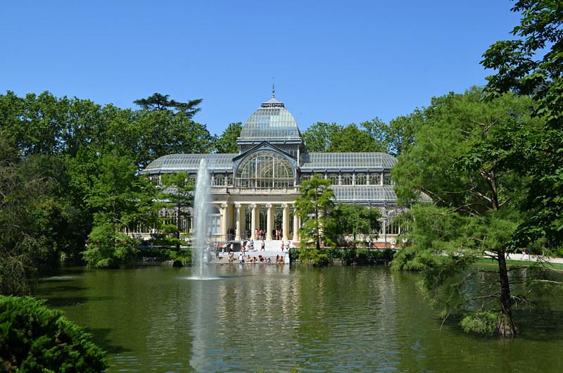 Crystal Palace, Park de El Retiro, Madrid