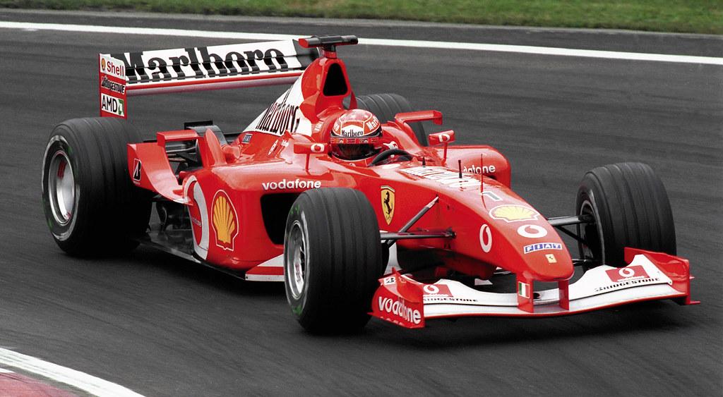 Michael Schumacher Ferrari F2002 Canada 2002 2