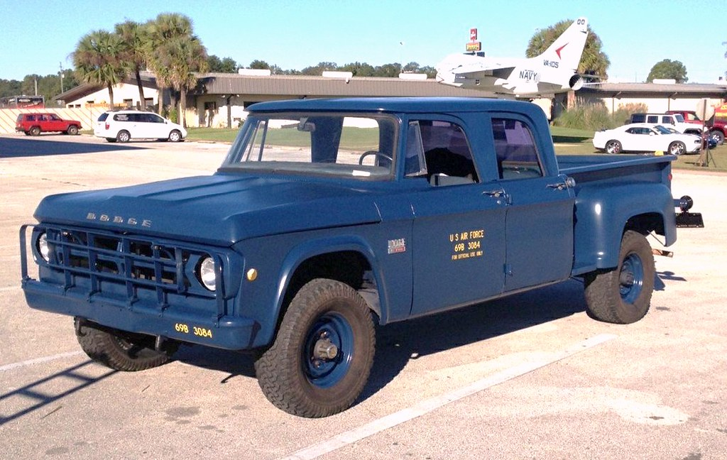 Dodge D200 Crew Cab For Sale >> 1969 Dodge Power Wagon W200 | Ex-USAF and restored. Larger t… | Flickr