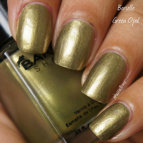 NailaDay: Barielle Green Opal