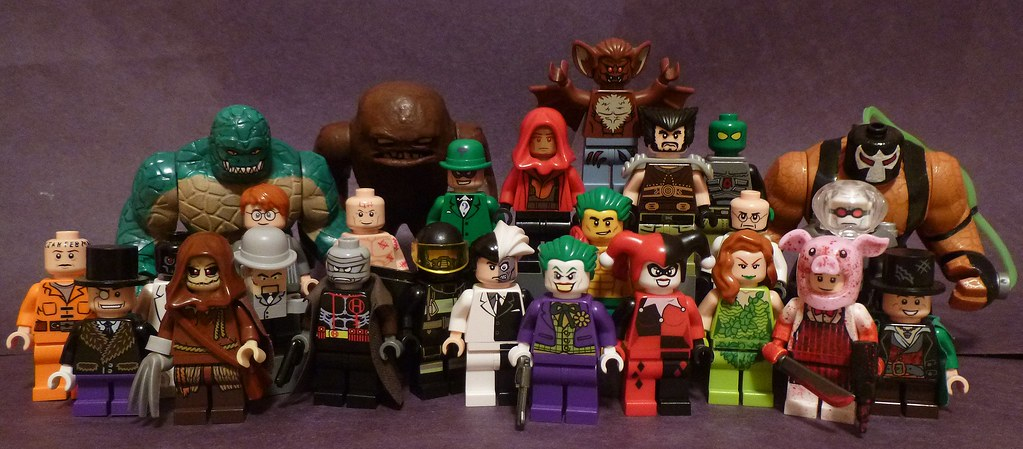 Lego Batman Rouges Gallery Here Is Every One Of My