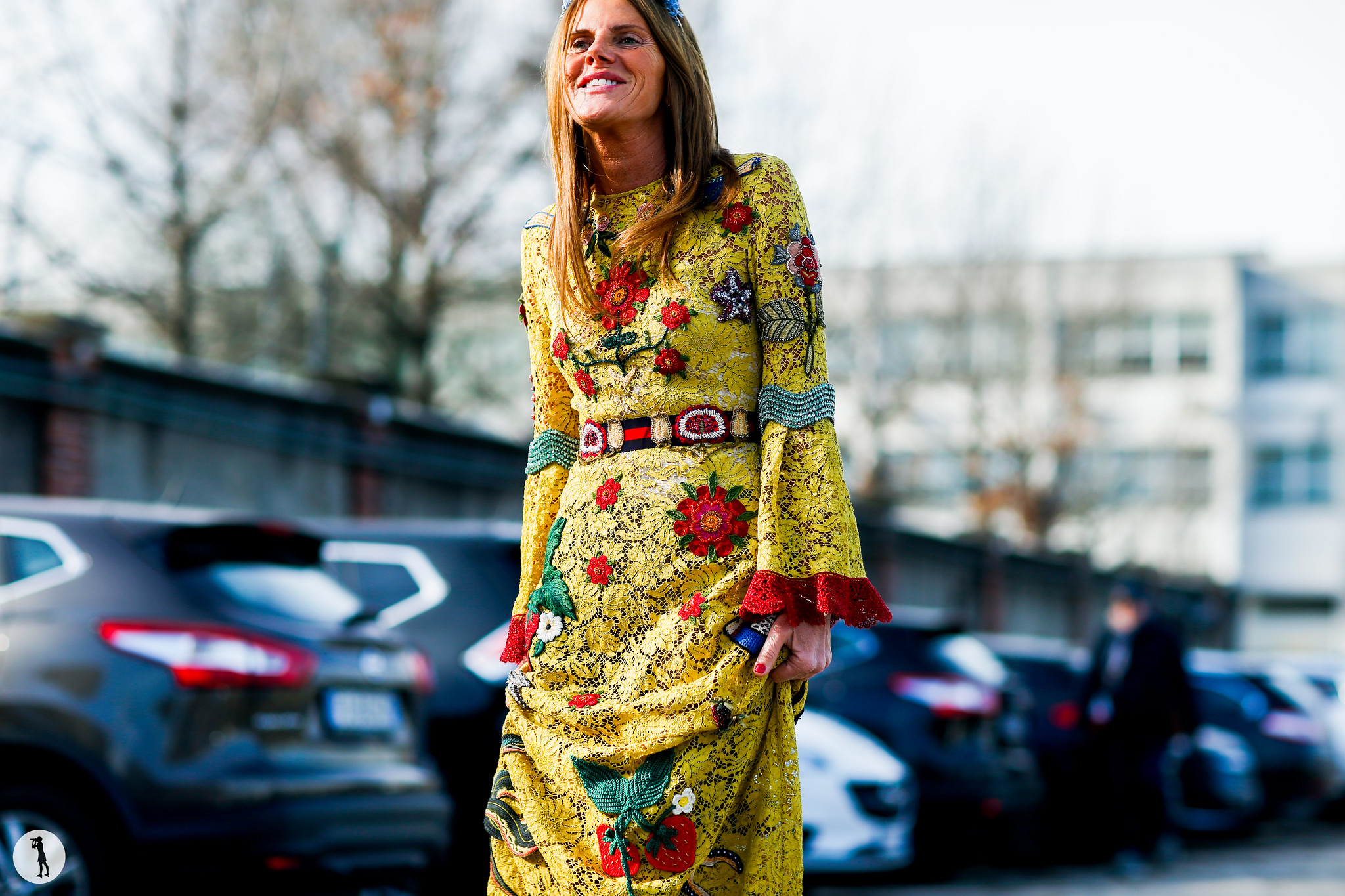 Anna Dello Russo at Milan Fashion Week Menswear-2 2