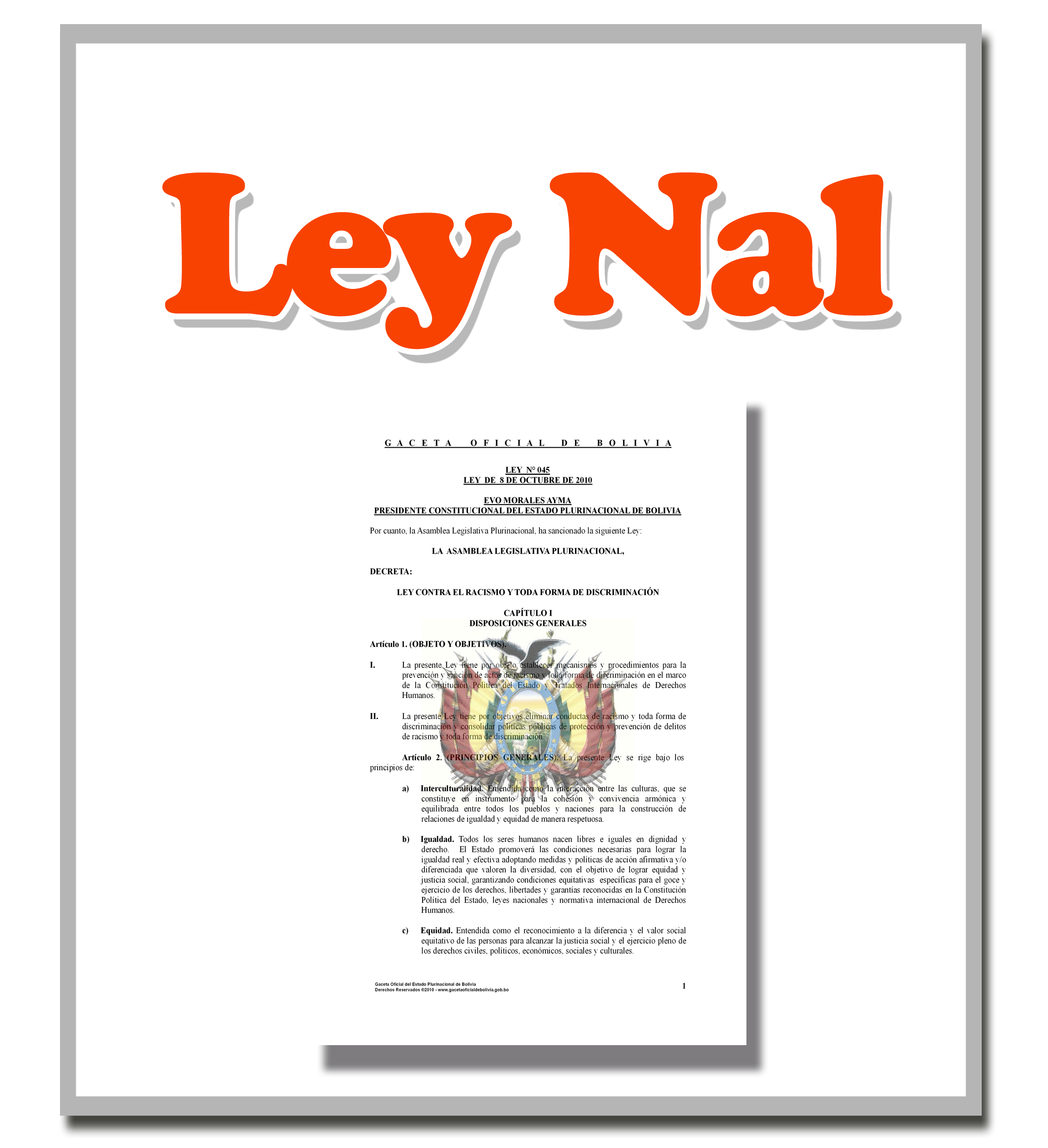 Ley Nacional 150