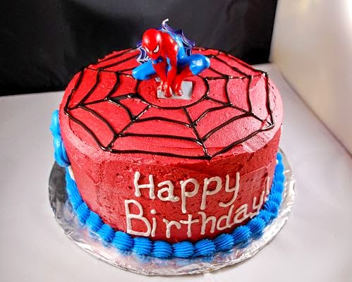Spiderman Birthday Cake Spider Man Birthday Cakes Ibirth Flickr