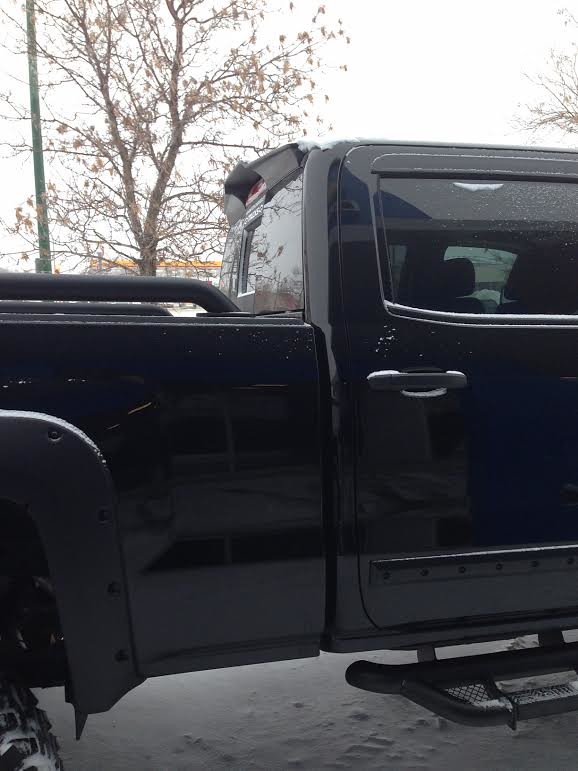 EGR Cab Spoiler for GM | NEW EGR Cab Spoiler for Silverado ...
