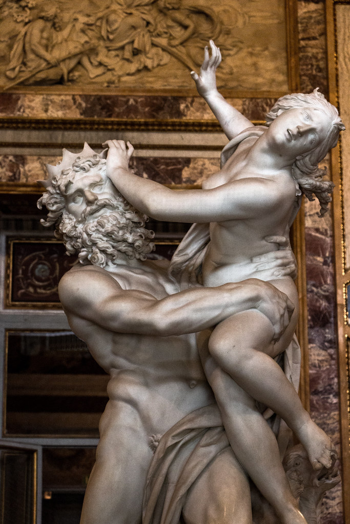 Bernini S Pluto And Proserpina Galleria Borghese Rome 20