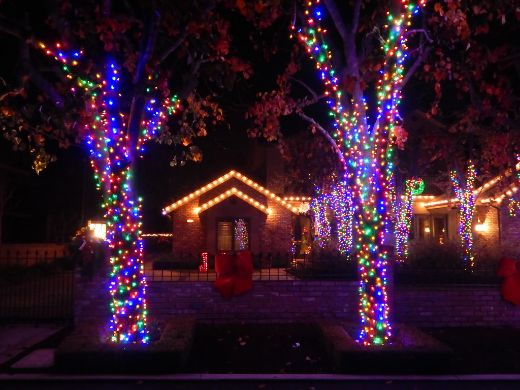 Christmas Tree Lane Fresno.Christmas Tree Lane Van Ness Blvd Fresno Ca Bob The